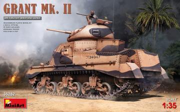 Grant Mk. II · MA 35282 ·  Mini Art · 1:35