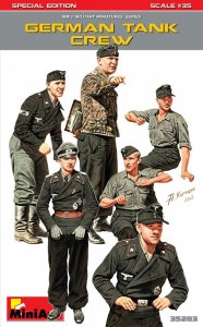 German Tank Crew. Special Edition · MA 35283 ·  Mini Art · 1:35