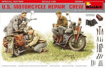 U.S. Motorcycle Repair Crew - Special Edition · MA 35284 ·  Mini Art · 1:35