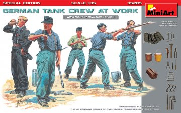 German Tank Crew at Work - Special Edition · MA 35285 ·  Mini Art · 1:35