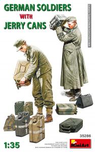 German Soldiers w/Jerry Cans · MA 35286 ·  Mini Art · 1:35