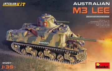 Australian M3 Lee - Interior Kit · MA 35287 ·  Mini Art · 1:35