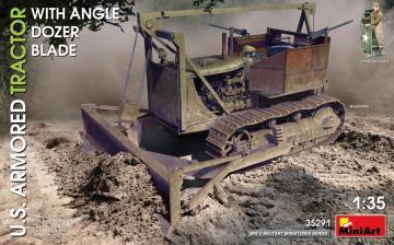 U.S. Armored Tractor w/Angle Dozer Blade · MA 35291 ·  Mini Art · 1:35