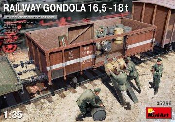 Railway Gondola 16,5-18 t · MA 35296 ·  Mini Art · 1:35