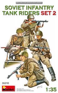 Soviet Infantry Tank Riders - Set 2 · MA 35310 ·  Mini Art · 1:35