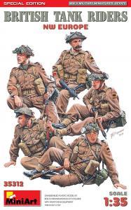British Tank Riders (NW Europe) - Special Edition · MA 35312 ·  Mini Art · 1:35