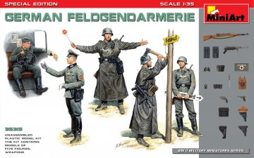 German Feldgendarmerie - Special Edition · MA 35315 ·  Mini Art · 1:35