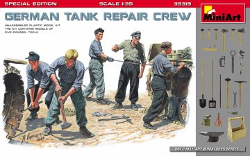 German Tank Repair Crew - Special Edition · MA 35319 ·  Mini Art · 1:35