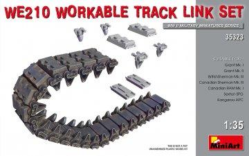 WE210 Workable Track Link Set · MA 35323 ·  Mini Art · 1:35