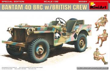 Bantam 40 BRC w/British Crew. Special Edition · MA 35324 ·  Mini Art · 1:35