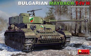 Bulgarian Maybach T-IV H · MA 35328 ·  Mini Art · 1:35
