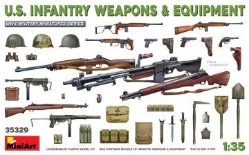 U.S. Infantry Weapons & Equipment · MA 35329 ·  Mini Art · 1:35