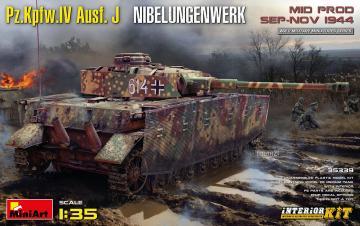Pz.Kpfw.IV Ausf. J Nibelungenwerk. Mid Prod. (Sep-Nov 1944) - Interior Kit · MA 35339 ·  Mini Art · 1:35