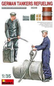 German Tankers Refueling · MA 35348 ·  Mini Art · 1:35