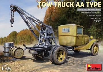 Tow Truck AA Type · MA 35351 ·  Mini Art · 1:35