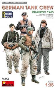 German Tank Crew - Kharkov 1943 - Resin Heads · MA 35354 ·  Mini Art · 1:35