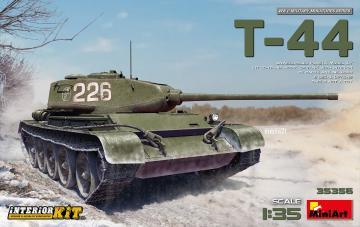 T-44 Interior Kit · MA 35356 ·  Mini Art · 1:35
