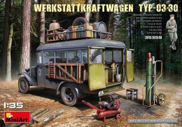 Werkstattkraftwagen Typ-03-30 · MA 35359 ·  Mini Art · 1:35