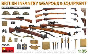 British Infantry Weapons & Equipment · MA 35368 ·  Mini Art · 1:35