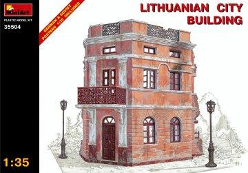 Litauisches Stadthaus · MA 35504 ·  Mini Art · 1:35