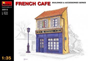 Französisches Cafe · MA 35513 ·  Mini Art · 1:35