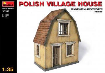 Polnisches Dorfhaus · MA 35517 ·  Mini Art · 1:35