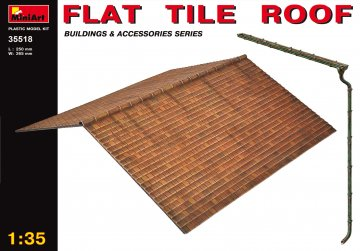 Flache Dachplatte · MA 35518 ·  Mini Art · 1:35