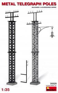 Telegraphenmasten aus Metall · MA 35529 ·  Mini Art · 1:35