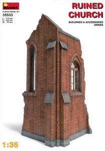 Kirchenruine · MA 35533 ·  Mini Art · 1:35
