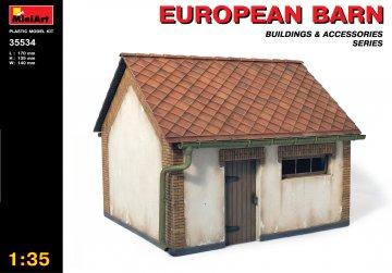 Europäische Scheune · MA 35534 ·  Mini Art · 1:35