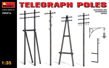 Telegraph Poles · MA 35541A ·  Mini Art · 1:35