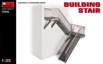 Gebäudeleitern · MA 35545 ·  Mini Art · 1:35