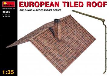 Europäisches Ziegeldach · MA 35555 ·  Mini Art · 1:35