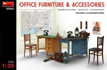 Office Furniture & Accessories · MA 35564 ·  Mini Art · 1:35