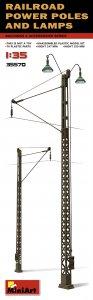 Railroad Power Poles & Lamps · MA 35570 ·  Mini Art · 1:35