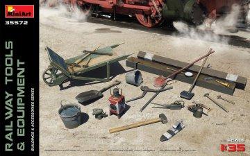 Railway Tools & Equipment · MA 35572 ·  Mini Art · 1:35