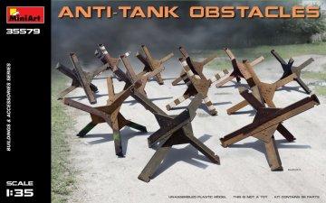 Anti-tank Obstacles · MA 35579 ·  Mini Art · 1:35