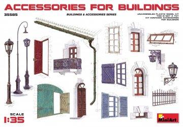 Accessories for Buildings · MA 35585 ·  Mini Art · 1:35