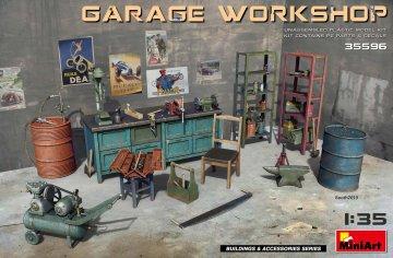 Garage Workshop · MA 35596 ·  Mini Art · 1:35
