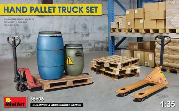 Hand Pallet Truck Set · MA 35606 ·  Mini Art · 1:35