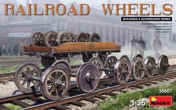 Railroad Wheels · MA 35607 ·  Mini Art · 1:35