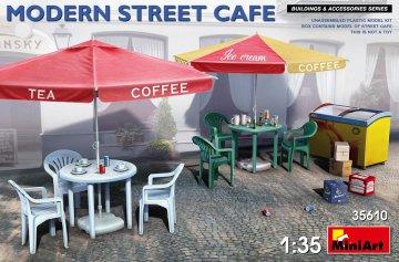 Modern Street Cafe · MA 35610 ·  Mini Art · 1:35