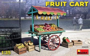 Fruit Cart · MA 35625 ·  Mini Art · 1:35