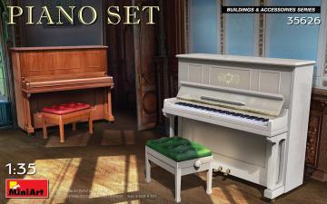 Piano Set · MA 35626 ·  Mini Art · 1:35