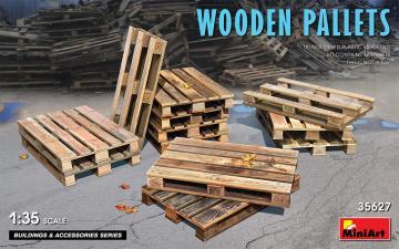 Wooden Pallets · MA 35627 ·  Mini Art · 1:35