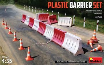 Plastic Barrier Set · MA 35634 ·  Mini Art · 1:35
