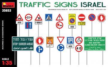 Traffic Signs. Israel · MA 35653 ·  Mini Art · 1:35