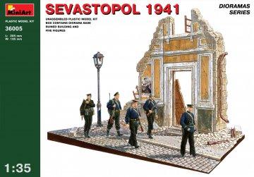 Sevastopol 1941 · MA 36005 ·  Mini Art · 1:35