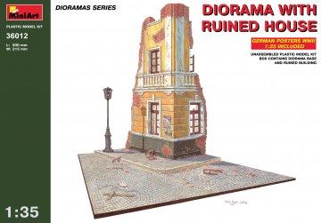 Diorama mit Hausruine · MA 36012 ·  Mini Art · 1:35