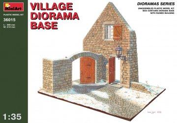 Dorf Diorama Grundplatte · MA 36015 ·  Mini Art · 1:35